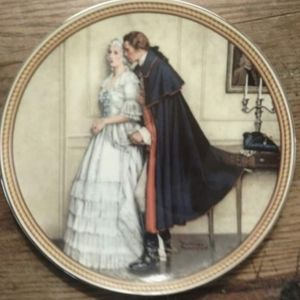 """""""Rockwell's Colonials"""" Collector Plate"""
